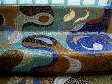 "KiWATER, 2007 & 2011, BBMAC, CORONADO, CArstin Green Custom Mosaics, ""Water"" 2008"