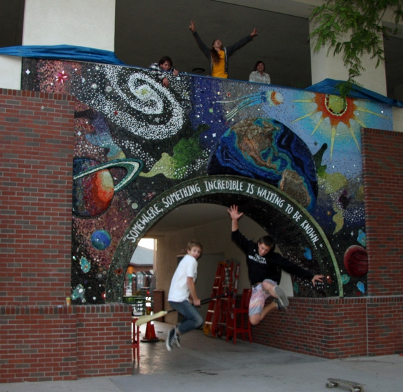 THE UNIVERSE, 2009, CORONADO HIGH SCHOOL, CA