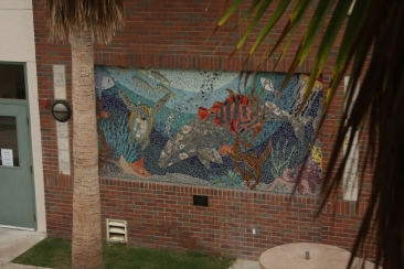 The Sweet Piece, Coronado High School, Spring 2006, 9ft X 12ft