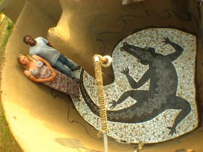CROCODILE, 2006, GHANA, WEST AFRICA