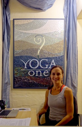 YOGA ONE SIGN, SAN DIEGO, CA